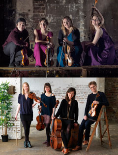 Aurea and Gildas String Quartets